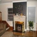 Builder In Eau Claire - After- fireplace