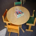 Builder In Eau Claire - Kids table - before (waiting room)